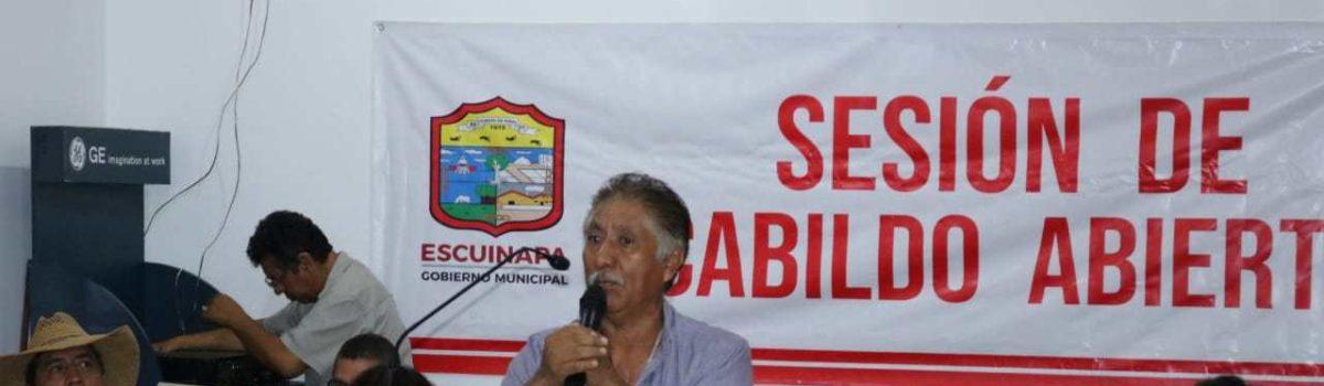 Efectúan Autoridades Municipales, segunda sesión de Cabildo Abierto.