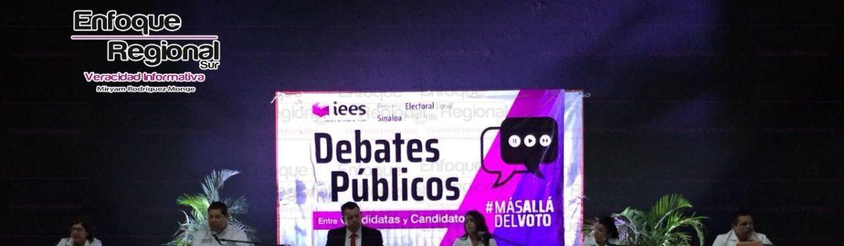 Debate de Candidatos a la Alcaldía por Escuinapa, no supera Expectativas.