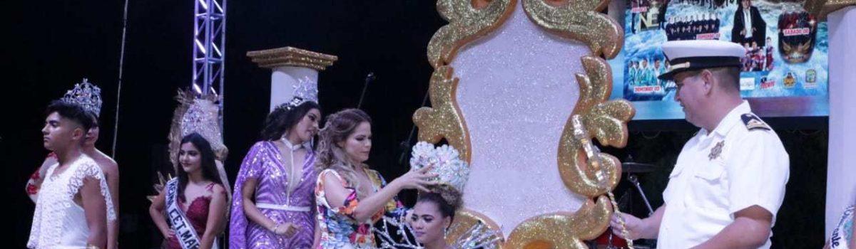Nilda I es coronada como Reina de las Fiestas del Marino 2018.