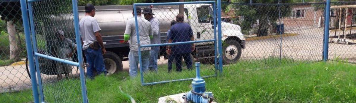 Jumapam continúa atendiendo con pipas a la población de la zona alta de El Habal