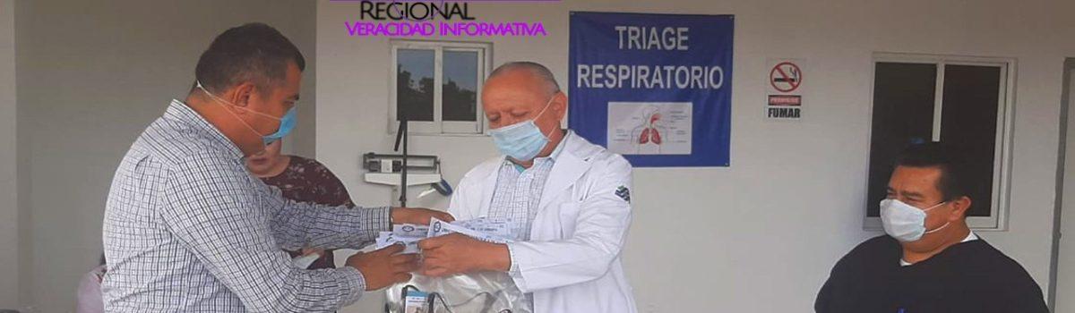 UTESC REALIZA PRIMERA ENTREGA DE MASCARILLAS DE USO MÉDICO