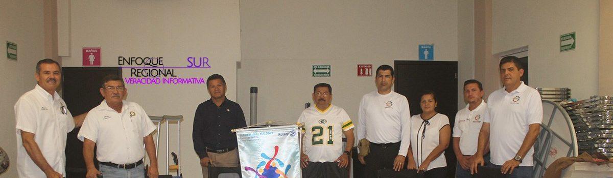 CLUB ROTARIO ESCUINAPA RECIBE DONACIÓN.