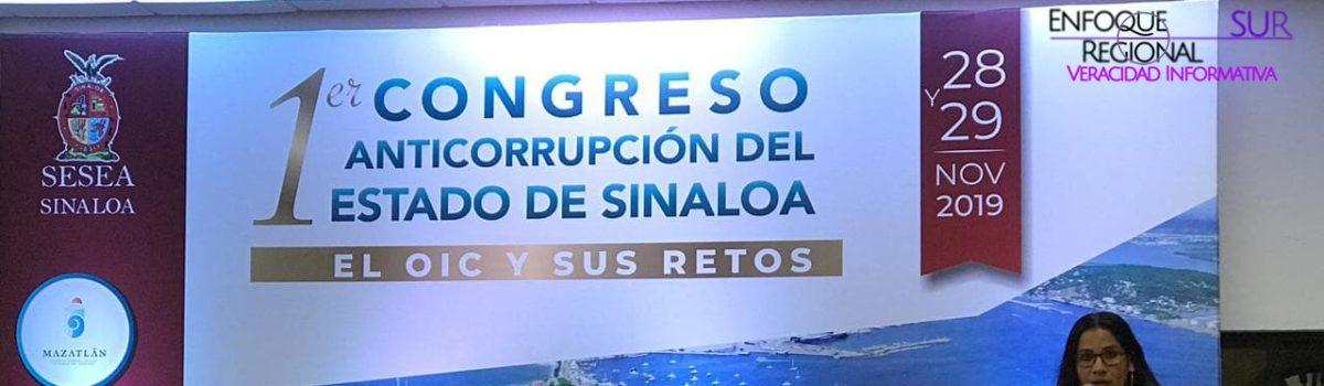 Inauguran en Mazatlán Primer Congreso Anticorrupción del Estado de Sinaloa