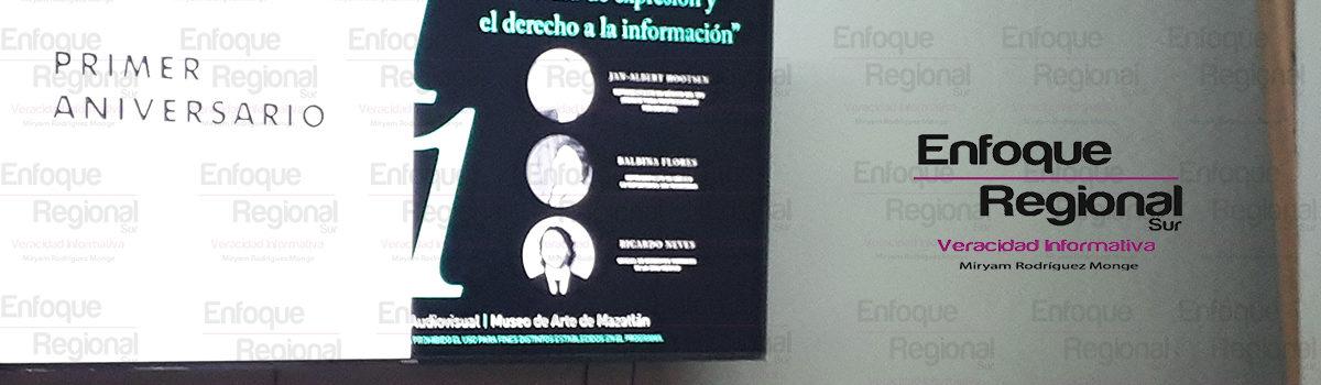Llevó a cabo Colectivo de Periodistas Jornadas Periodísticas  en su primer Aniversario de Fundación.