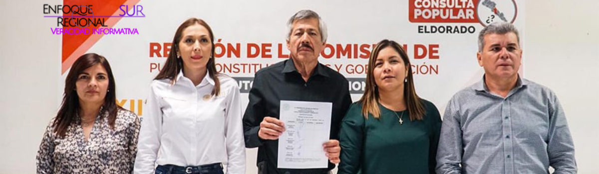 Participan 7,492 eldoradenses en Consulta; 99 por ciento dice sí a municipalización