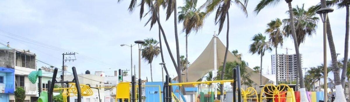 Rehabilita Ayuntamiento los juegos del Parque 'Martiniano Carvajal'