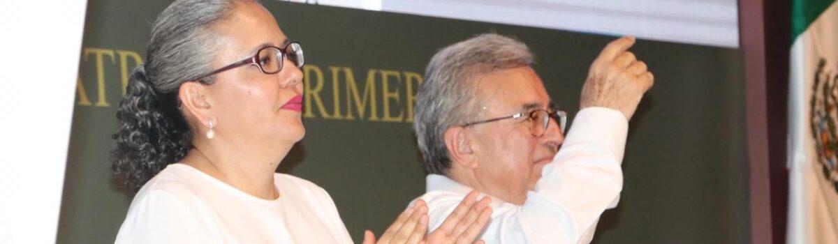 ASISTE DIPUTADA GRACIELA DOMÍNGUEZ NAVA AL PRIMER INFORME LEGISLATIVO.