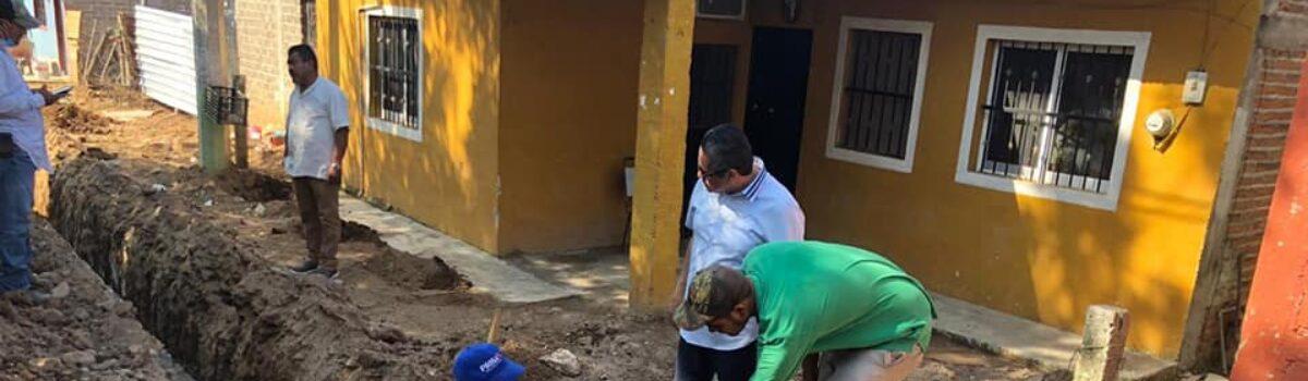 SUPERVISA EL DR. PINEDA AVANCE Y CALIDAD DE OBRAS.
