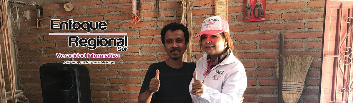 Visita Arcelia PradoSindicatura de Cacalotán.