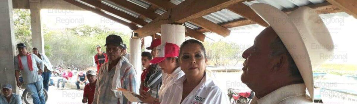 """""""Seguimos trabajando duro, para llevar siempre las mejores propuestas a los ciudadanos""""; Arcelia Prado."""