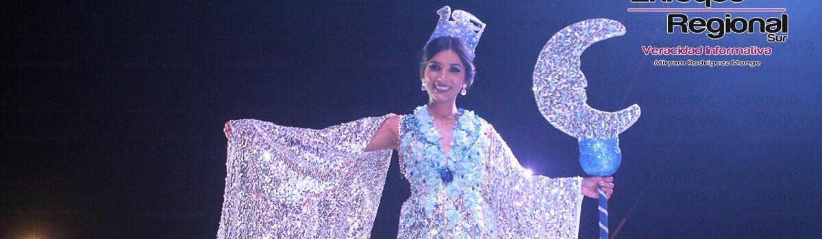 Es coronada Lourdes I Reina de los Juegos Florales.
