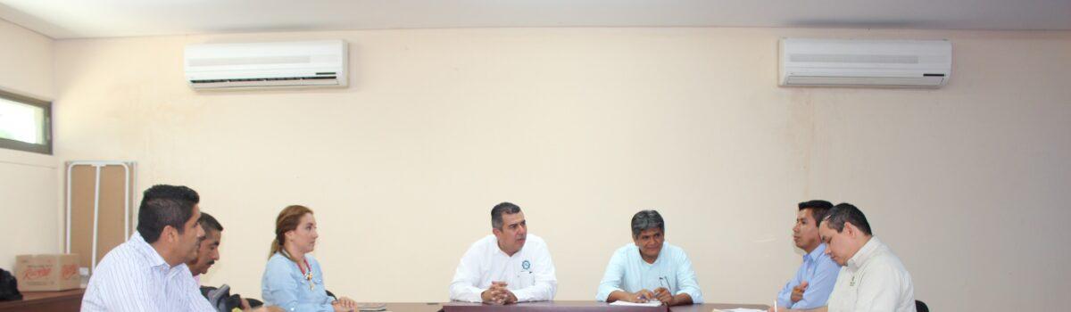 Reunión de trabajo entre UTEsc y Conselva