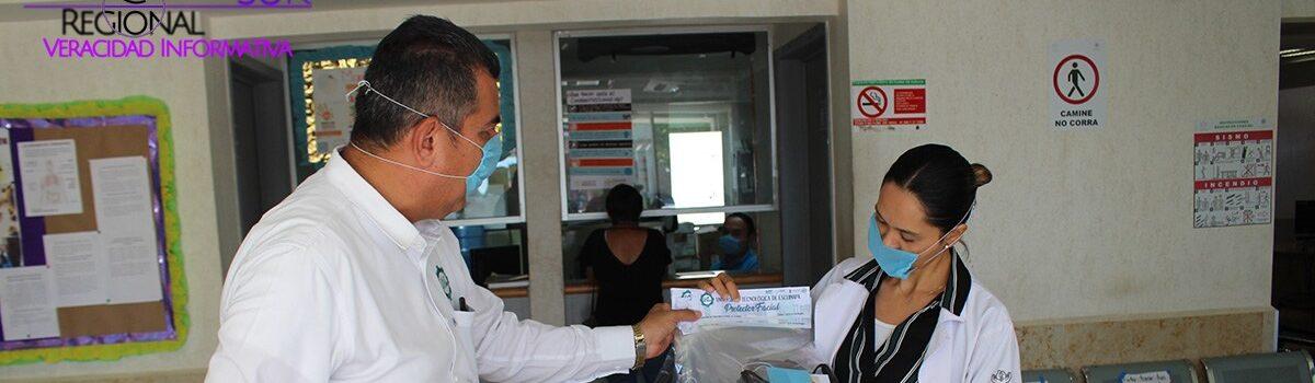 ENTREGA UTESC PANTALLAS FACIALES A INSTITUCIONES DE SALUD EN EL ROSARIO