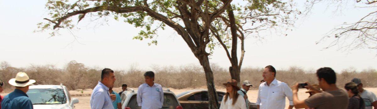 Gobernador supervisó trabajos del camino  UTESC.