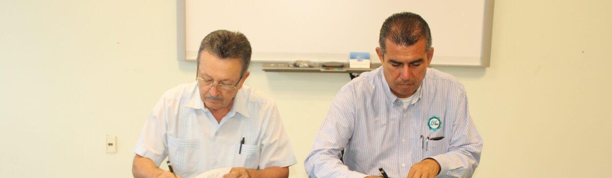 Utesc e INAPI, firman convenio de colaboración.