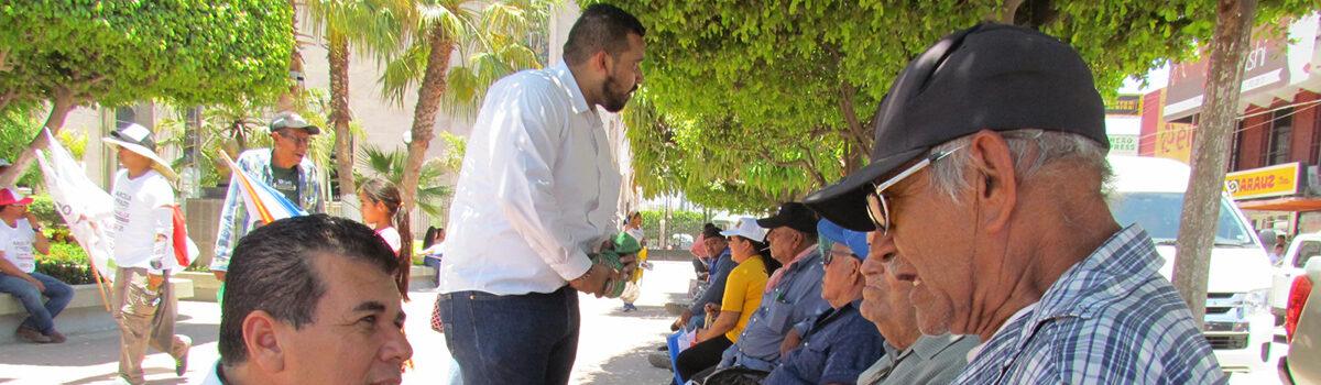Visita Edgar Augusto González Zataráin Escuinapa en su Segundo acto de campaña por el sur.
