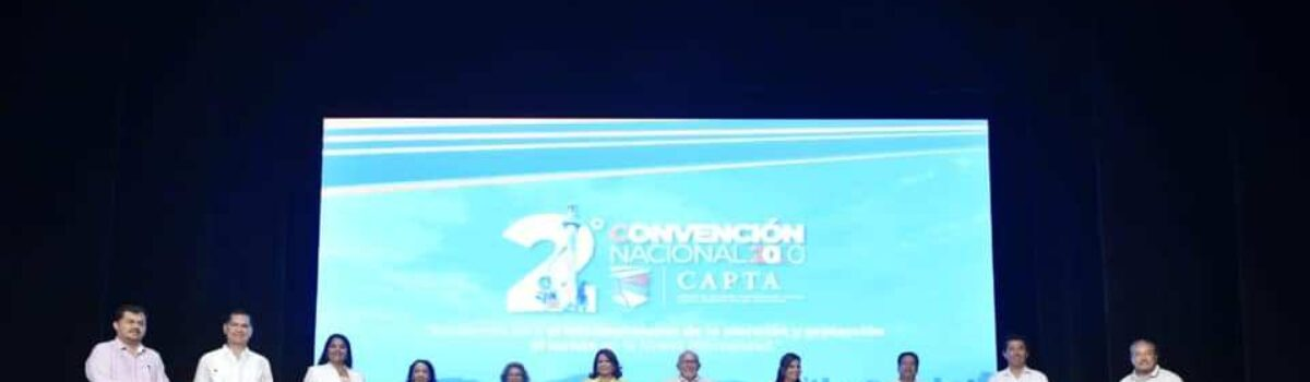 CULMINA LA SEGUNDA CONVENCIÓN CAPTA 2020 CON LA CREACIÓN DE LA RUTA DORADA