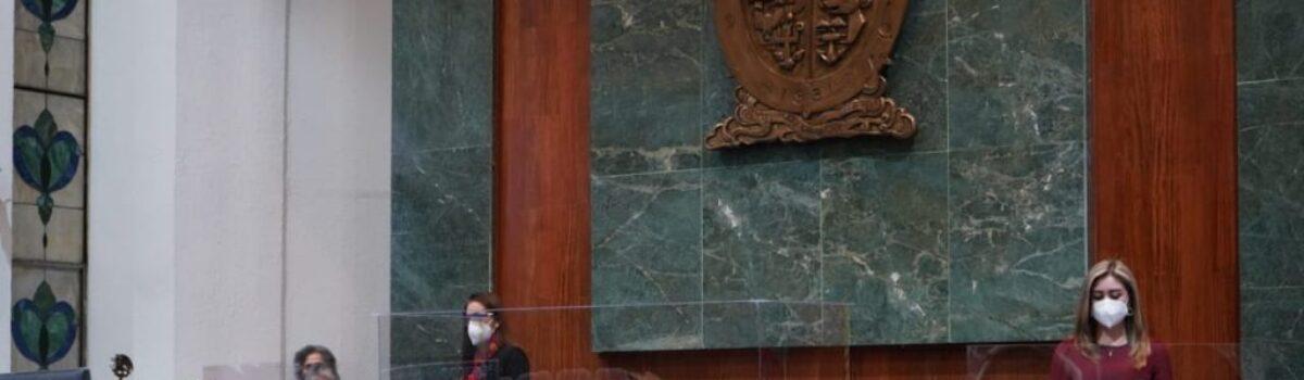 Clausura Congreso Periodo Ordinario de Sesiones; Eligen a Graciela Domínguez Nava, presidenta de Diputación Permanente.