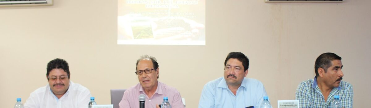 """Presentación del Libro """"Los Agro químicos en la región sur del estado de Sinaloa"""""""