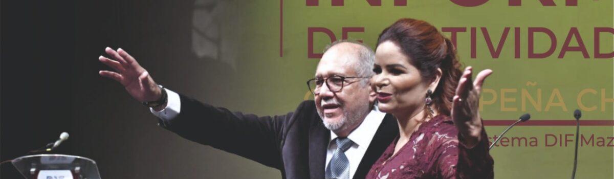 Rinde Gabriela Peña Chico informe de actividades de DIF Mazatlán