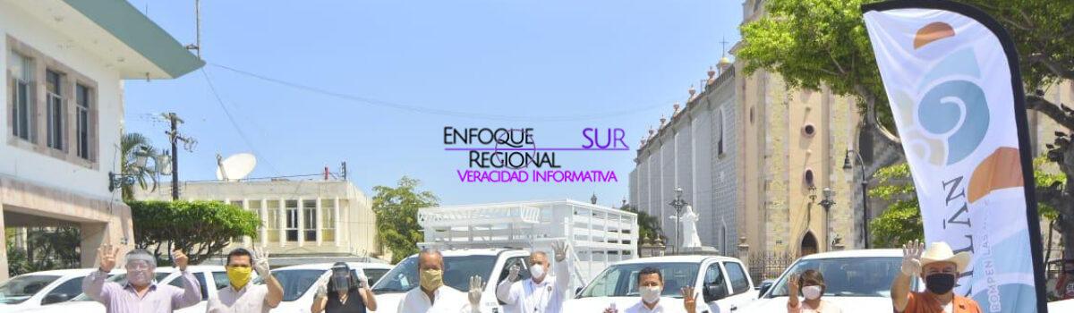 Refuerza el Municipio su operatividad con 19 nuevos vehículos