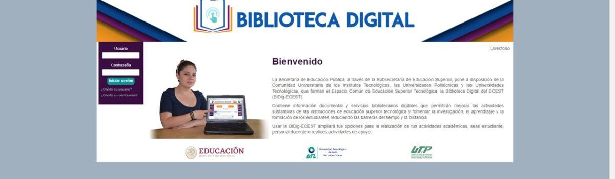 UTESC INICIA CAPACITACIÓN, EN LÍNEA, A DOCENTES Y ESTUDIANTES, EN USO DE BIBLIOTECA DIGITAL.