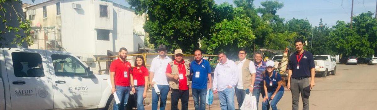 COEPRISS despliega brigadas sanitarias tras las lluvias en Sinaloa