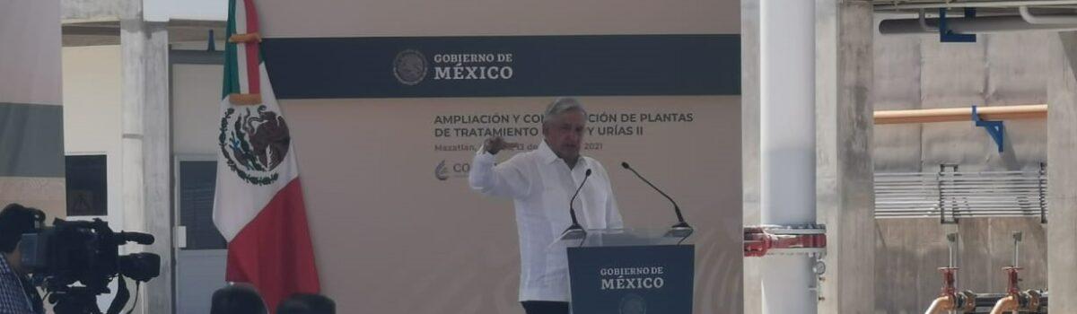 'Plantas de tratamiento en Mazatlán, un beneficio social y turístico'