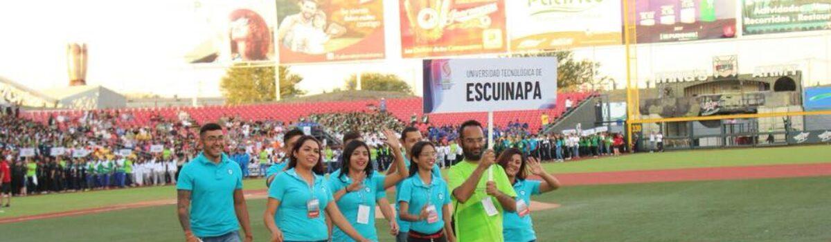 UTESC, presente en el encuentro Nacional Deportivo y Cultural de Universidades Tecnológicas.