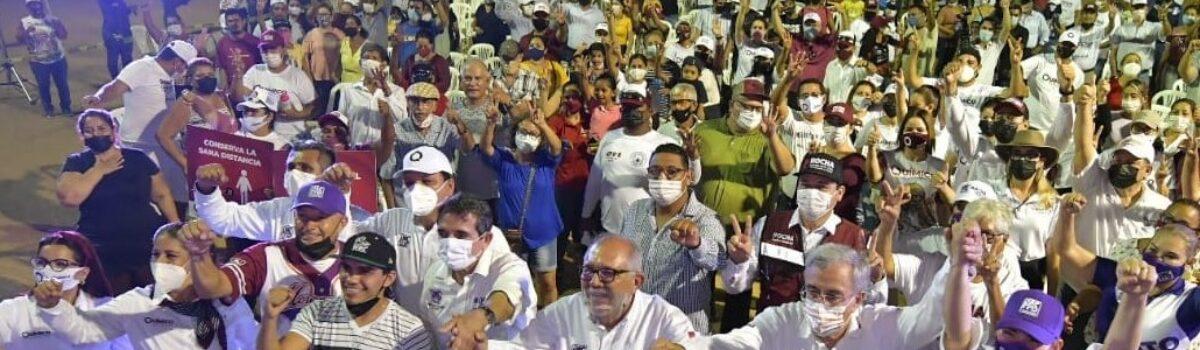ABATIR EL REZAGO SOCIAL, LÍNEA DE ACCIÓN DEL QUÍMICO BENITEZ