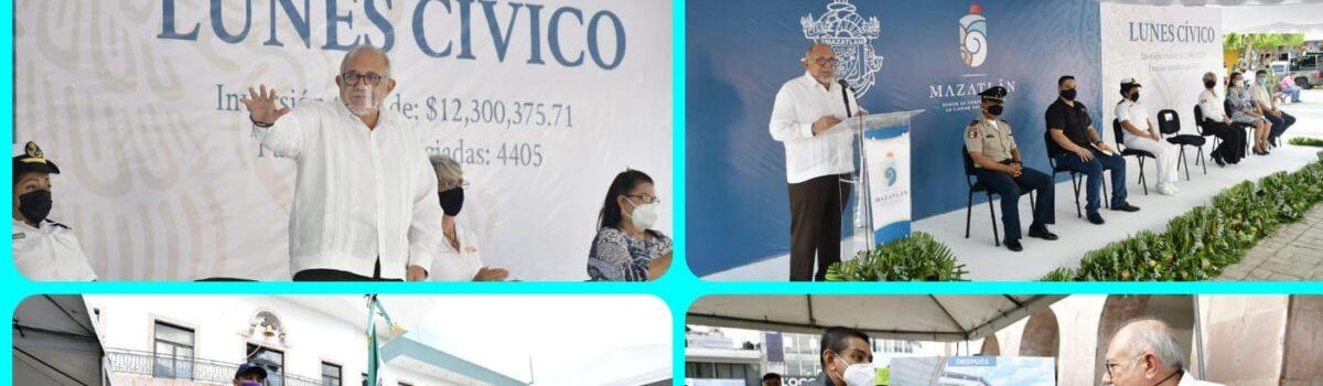 Inaugura Luis Guillermo Benitez el ciclo escolar con entrega de 13 obras