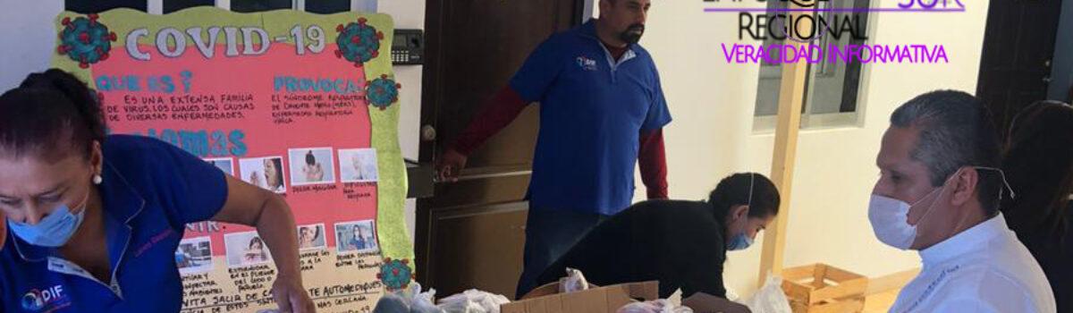 Supervisa alcalde entrega de apoyos alimenticios en DIF Rosario