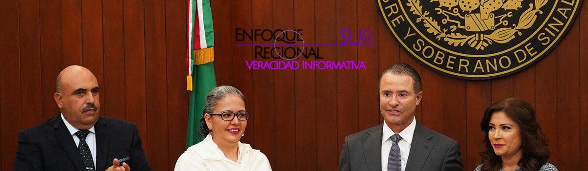 Recibe Congreso del Estado Tercer Informe de Labores de Quirino Ordaz