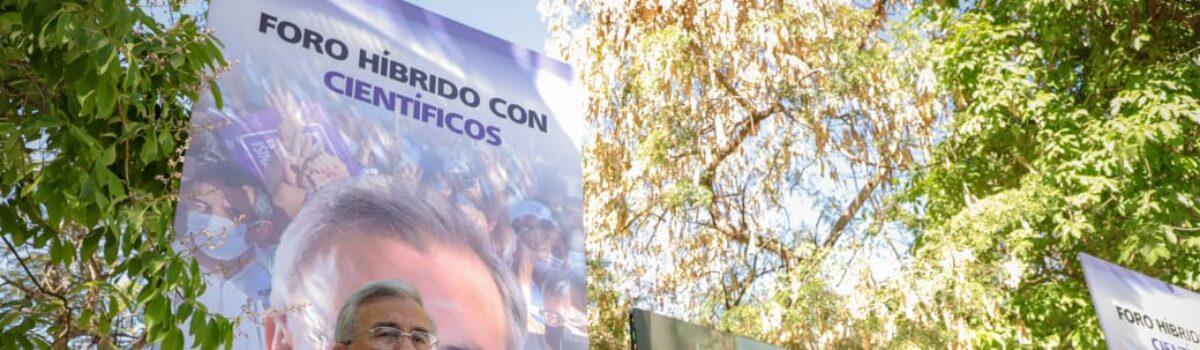 GOBIERNO DE ROCHA SE SUSTENTARÁ EN SABER E INVESTIGACIÓN DE CIENTÍFICOS SINALOENSES.