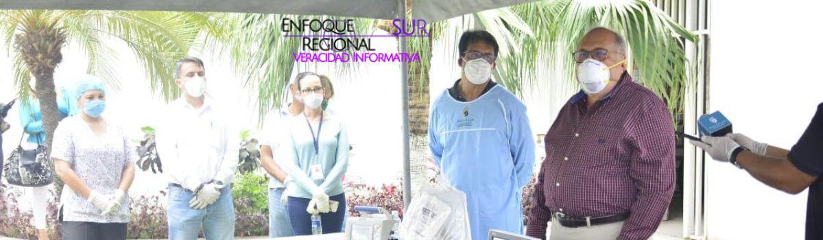 Dota Municipio de equipo especial al Hospital 'Margarita Maza de Juárez'