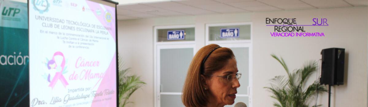 CONCIENTIZAN A ESTUDIANTES SOBRE DETECCIÓN OPORTUNA DE CÁNCER DE MAMA