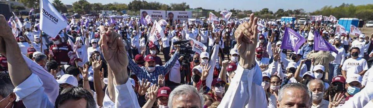 «DEBEMOS ENSEÑARNOS A CONQUISTAR EL VOTO»: RUBÉN ROCHA MOYA