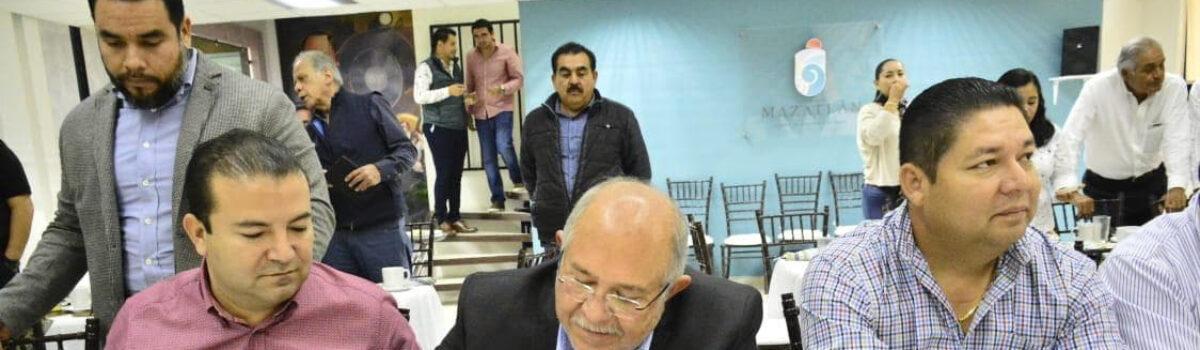 Firman acuerdos para impulsar el proyecto turístico Riviera Mazatlán Acompañado de los alcaldes de San Ignacio y Escuinapa, el Químico Benitez Torres detalla el convenio de colaboración