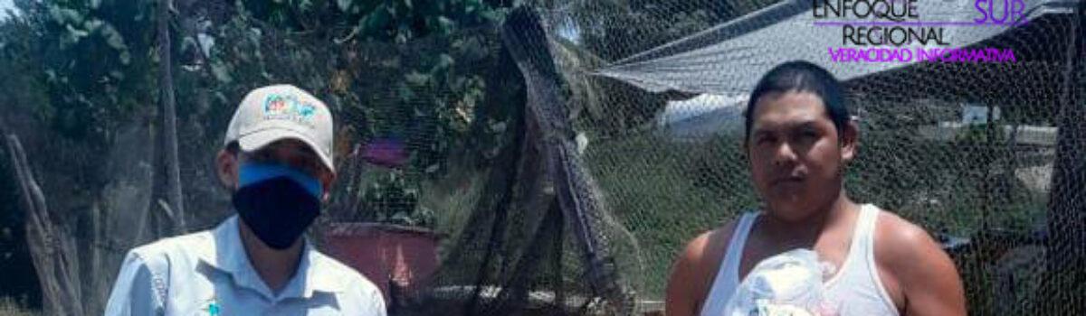 Familias vulnerables solicitan despensas a DIF Mazatlán a través de Redes Sociales