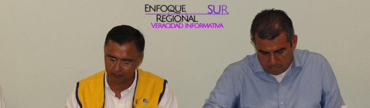 FIRMAN CONVENIO DE COLABORACIÓN UTESC Y CLUB DE LEONES ESCUINAPA FUNDADOR A.C.