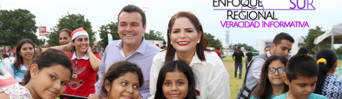 CIERRA DIF MAZATLÁN TEMPORADA DE POSADAS NAVIDEÑAS CON MAGNO EVENTO EN FLORES MAGÓN