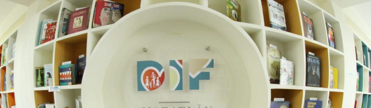 Inaugura DIF Mazatlán Biblioteca Incluyente pública para niñas, niños y adolescentes