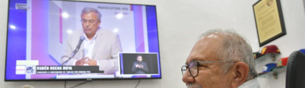 ROCHA GANÓ EL DEBATE Y CONSOLIDARÁ LA 4T EN SINALOA: QUÍMICO BENITEZ