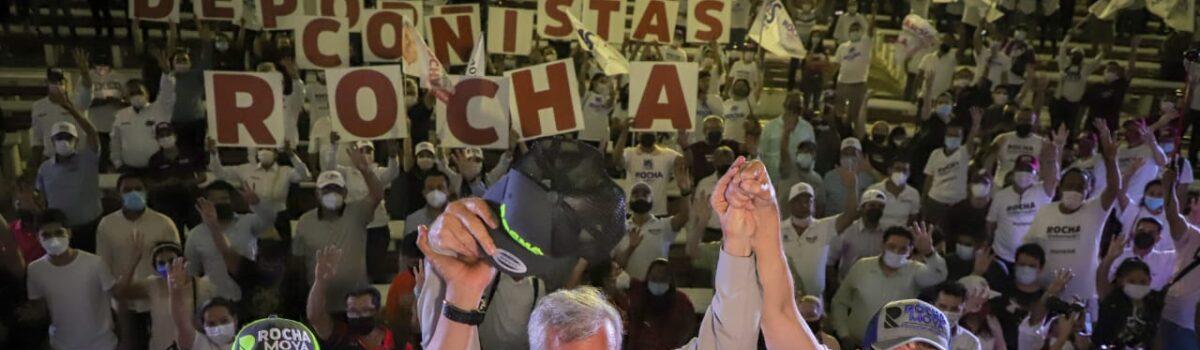 NO PODEMOS FALLARLE A LOS DEPORTISTAS SINALOENSES: ROCHA MOYA
