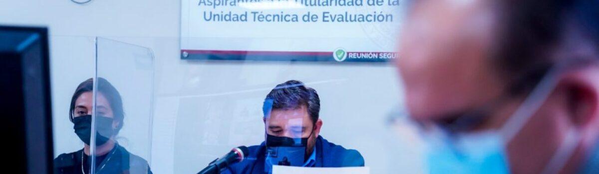 Comparecen ante Comisión de Fiscalización aspirantes a la titularidad de la UTE