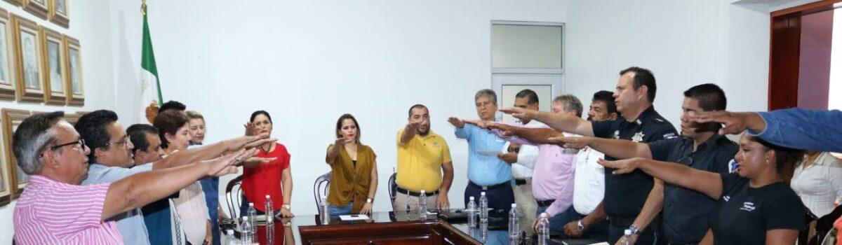 Integran Consejo Municipal de Protección Civil.