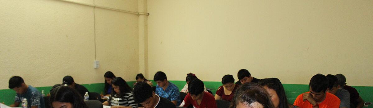 UTESC efectúa Examen CENEVAL a aspirantes de Nuevo Ingreso.