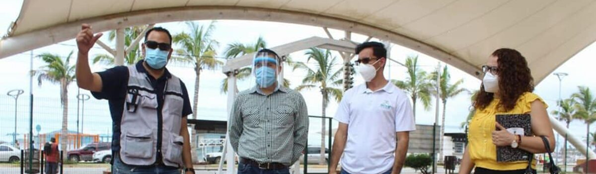 Inicia Imdem construcción de barda perimetral en la cancha Martiniano Carvajal