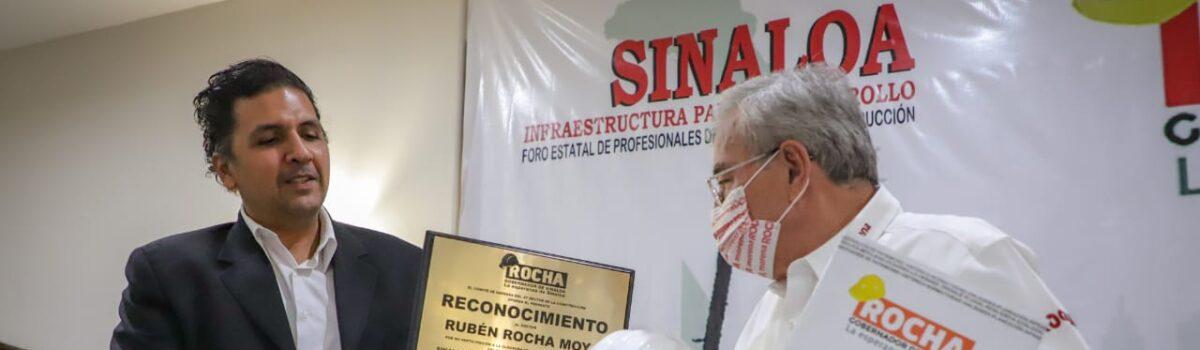 RUBÉN ROCHA MOYA Y CONSTRUCTORES TRANSFORMARÁN SINALOA CON OBRA PÚBLICA TRANSPARENTE