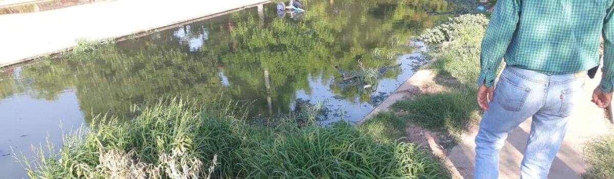 COEPRISS atiende contaminación por aguas negras en Ahome